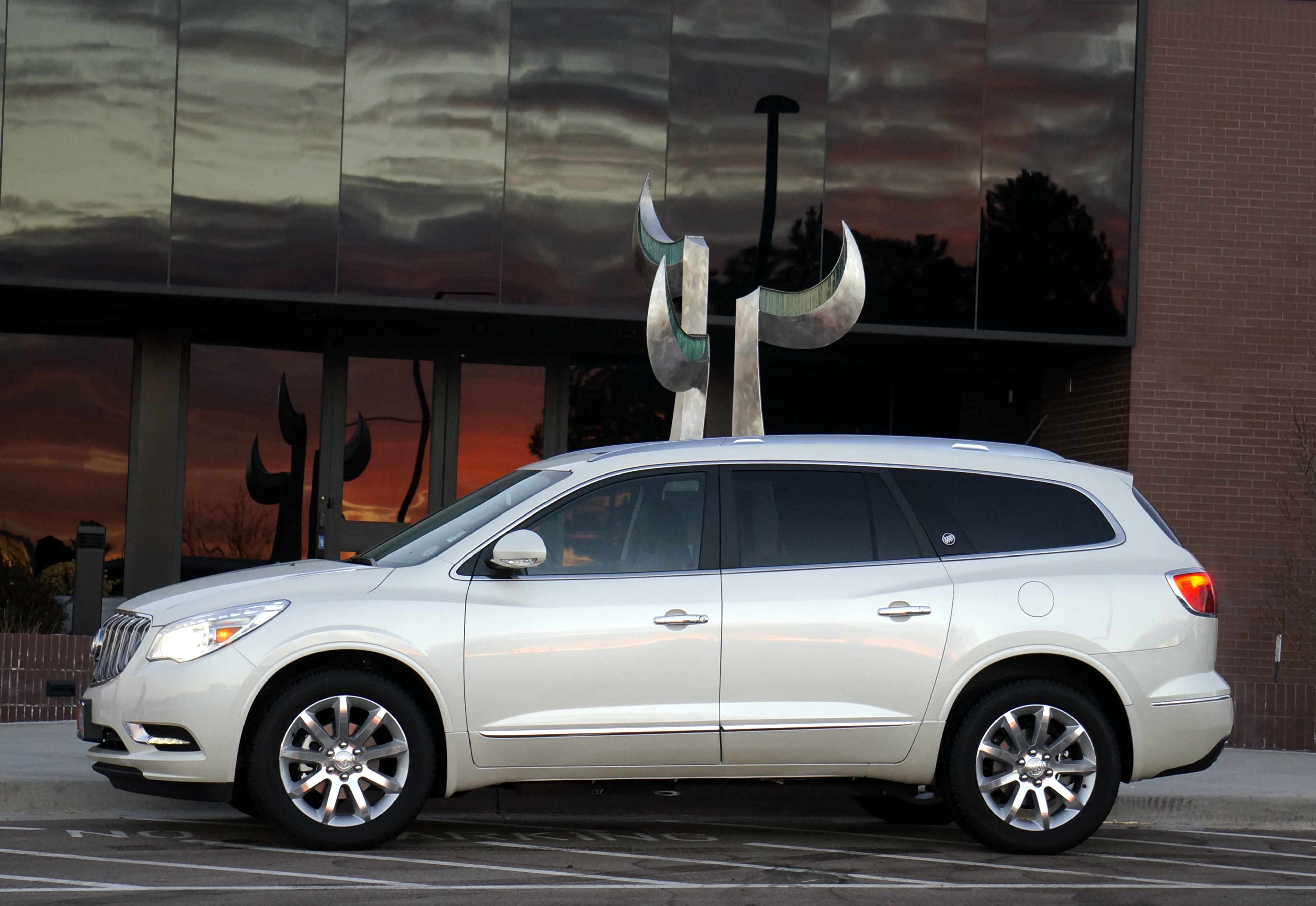 enclave buick fort motors used detail at leather serving haims awd