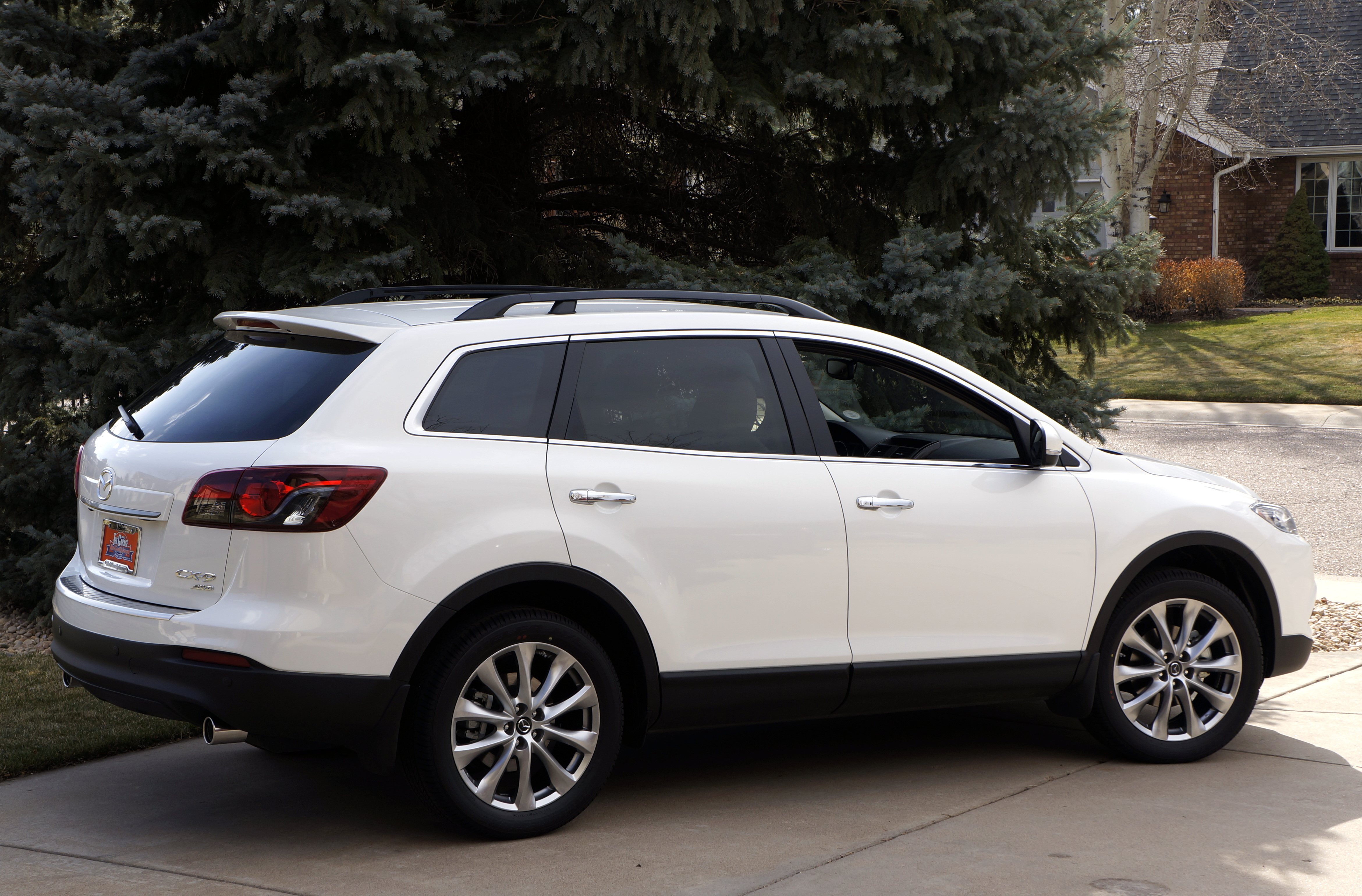 2014 mazda cx 9 awd grand touring crossover stu 39 s reviews. Black Bedroom Furniture Sets. Home Design Ideas