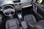 Forester XT interior