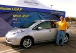Nissan-sponsored Leaf driving event - Broomfield, CO, September of 2011