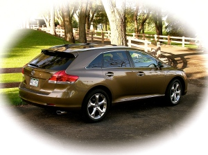 Toyota's 2012 Venza has styling that suits me - taken in October of 2011.