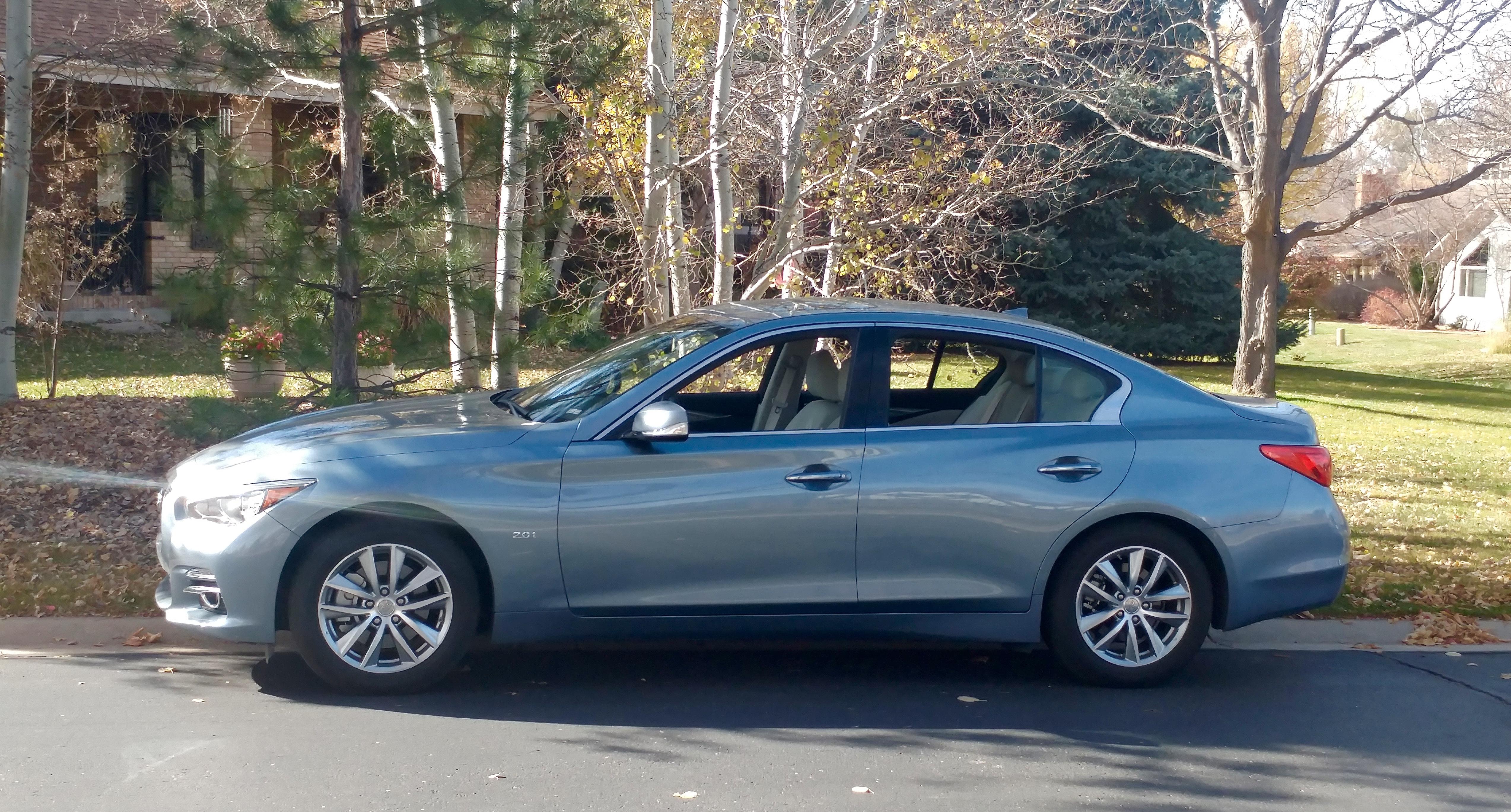 Infiniti Premium Rwd Sedan Stu S Reviews