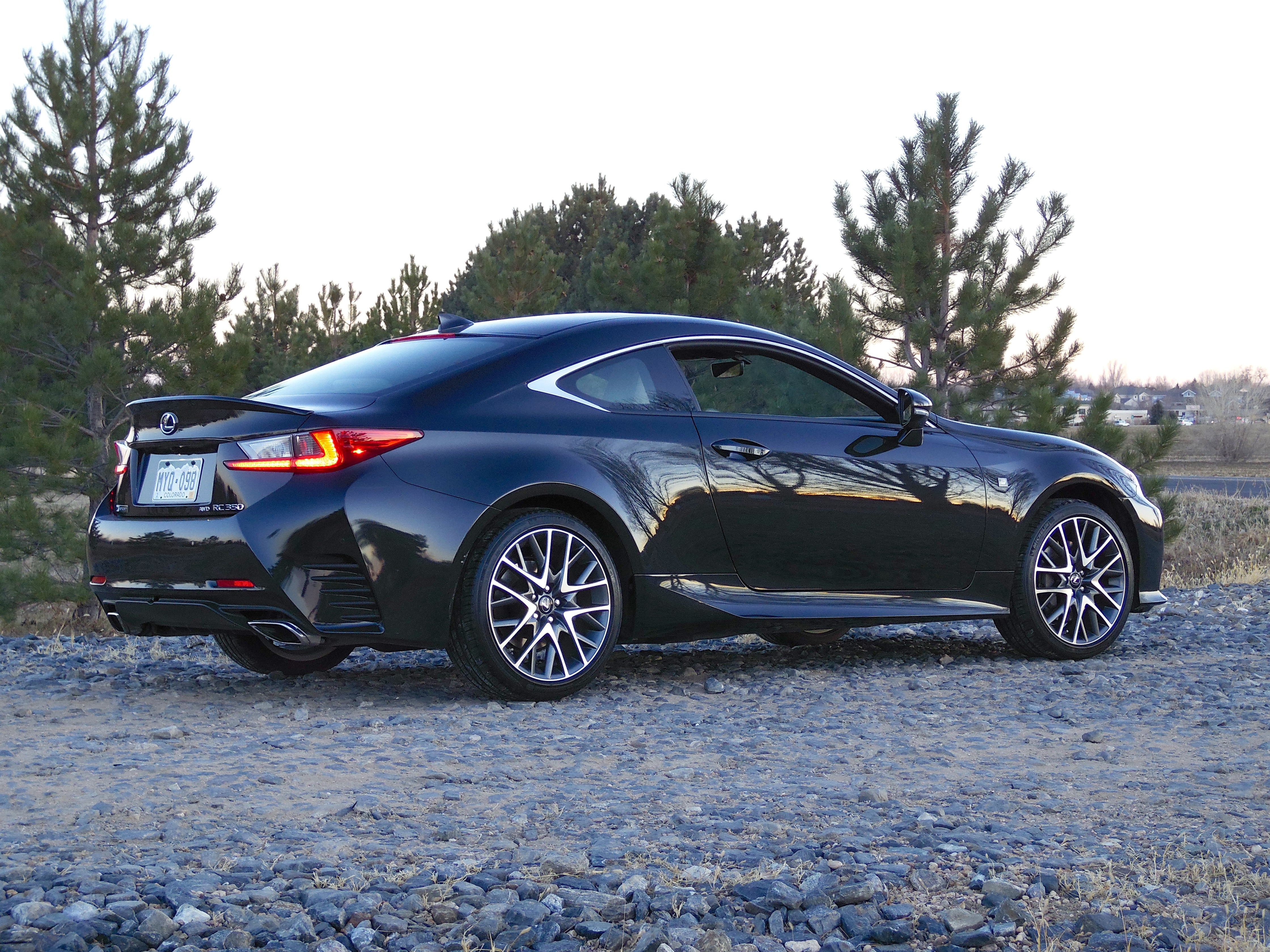 Recently I Drove Over To Pirate Radio With My Latest Test Car, The 2017  Lexus RC 350 F Sport, Which Was Painted Caviar (black) And Featured A Black  Leather ...